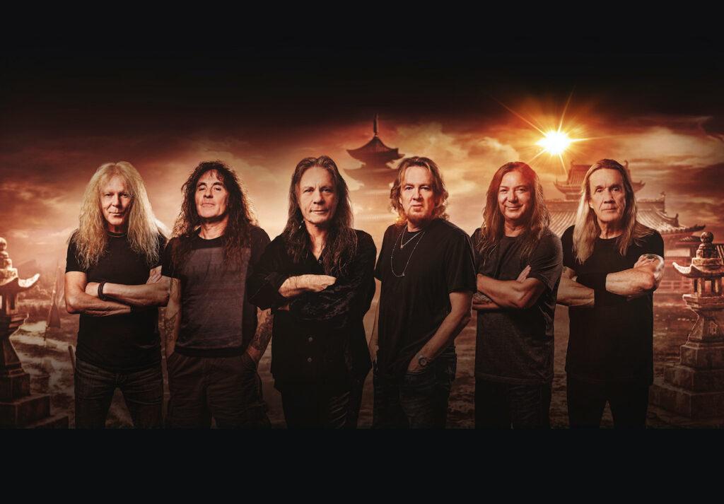 Iron Maiden Group Shot