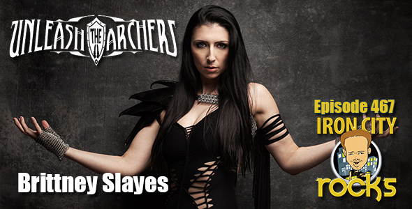 Brittney Slayes of Unleash the Archers